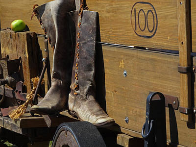 Photograph - Boots by Jacqueline  DiAnne Wasson