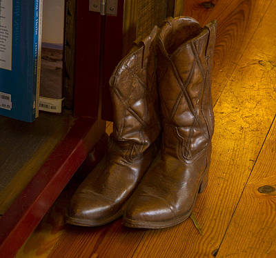Photograph - Boots Not Made For Walking by Jean Noren
