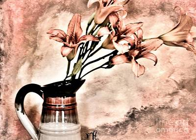 Photograph - Bouquet Of Lilies by Marsha Heiken