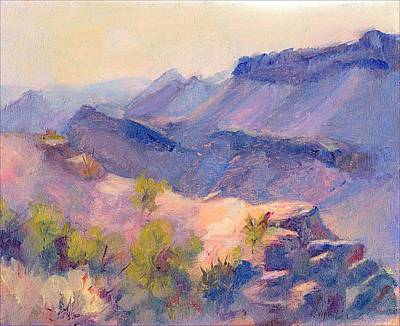 Painting - Boquillas Canyon by Rosemarie Hakim
