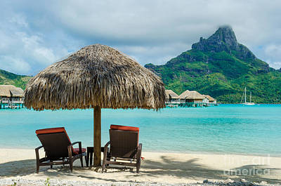 Photograph - Bora Bora Beach by IPics Photography