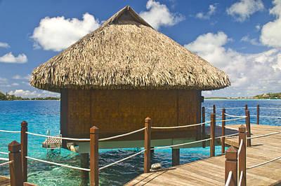 Photograph - Bora Bora Bungalow by Pam  Elliott