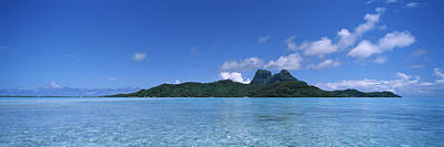 Boras Photograph - Bora Bora From Motu Iti, Society by Panoramic Images