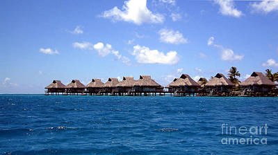Photograph - Bora Bora Lagoon by Camilla Brattemark