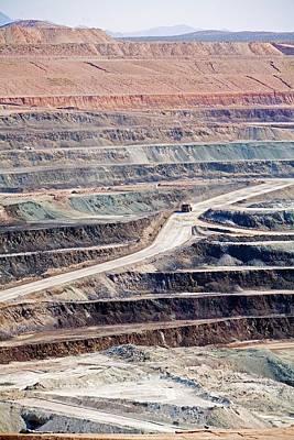 Borax Mine Art Print by Jim West