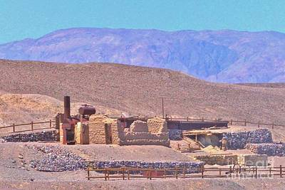 Photograph - Borax Mine by Marilyn Diaz