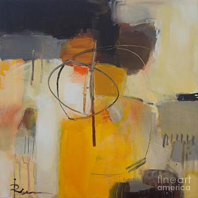 Expresion Painting - Bord-hvit-topp by Ira Ivanova