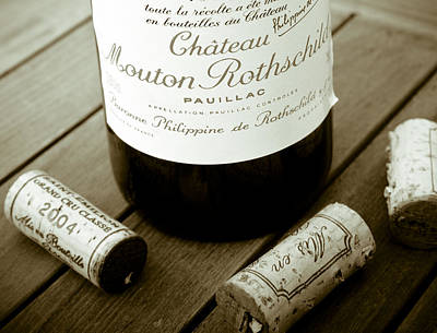 Photograph - Bordeaux Tasting by Frank Tschakert