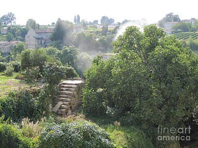 Photograph - Bordeaux Village Cloud Of Smoke  by HEVi FineArt
