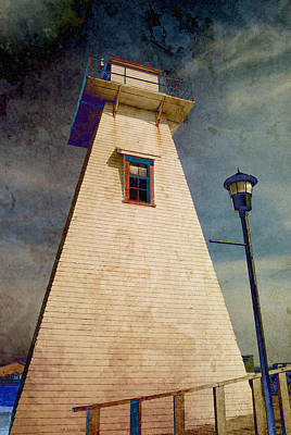 Photograph - Borden-carleton Lighthouse by WB Johnston