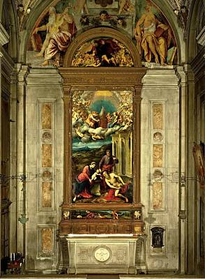 Bordon Paris, Carlo Da Rho Chapel Art Print by Everett