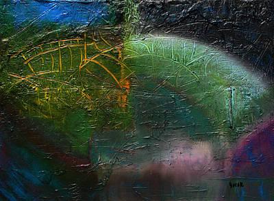 Painting - Borealis by Oscar Penalber