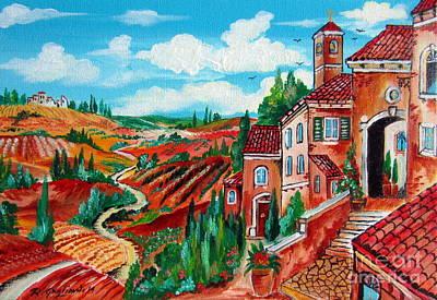 Borghetto Toscano Original by Roberto Gagliardi