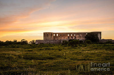 Borgholm Castle In Sweden Art Print by Kennerth and Birgitta Kullman