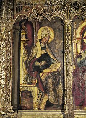 Borgo�a, Juan De 1465-1536 Berruguete Art Print