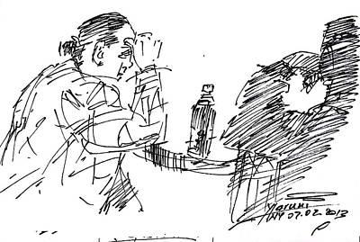 Companies Drawing - Boring Company by Ylli Haruni