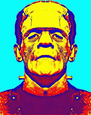Frankenstein Mixed Media - Boris Karloff Alias In The Bride Of Frankenstein by Art Cinema Gallery