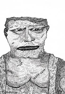 Drawing - Boris by Martin Blakeley