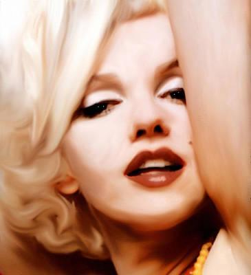 Actors Mixed Media - Born Blonde - Or Was She? by Georgiana Romanovna