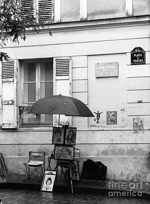 Sacre Coeur Photograph - Born In Montmartre  by Corinne Johnston