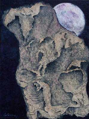 Mixed Media - Born Of The Moon by Carla Woody