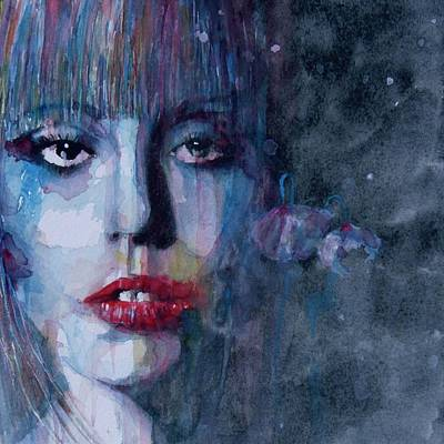 Lady Gaga Painting - Born This Way by Paul Lovering
