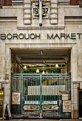 Photograph - Borough Market London by Heather Applegate