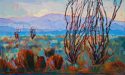 Painting - Borrego Bloom by Erin Hanson