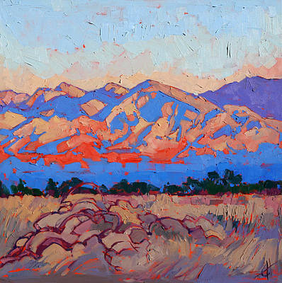 Painting - Borrego Color by Erin Hanson