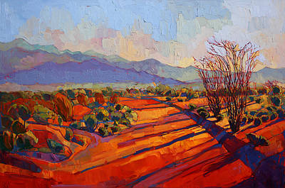 Painting - Borrego In Color by Erin Hanson