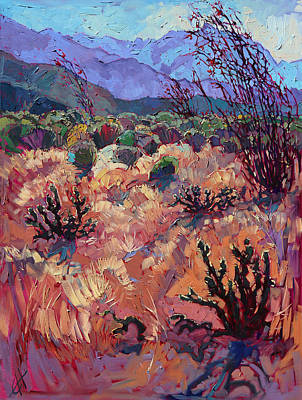 Painting - Borrego Light by Erin Hanson