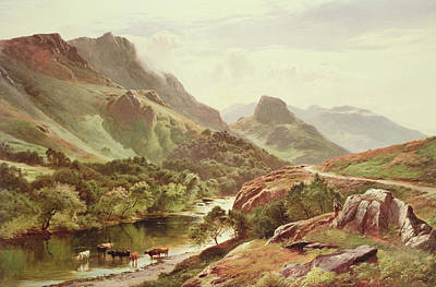 Percy Painting - Borrowdale by Sidney Richard Percy