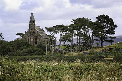 Photograph - Borth Church by Fran Gallogly