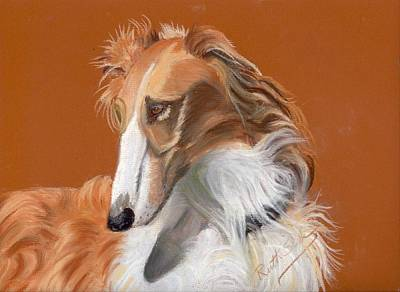 Painting - Borzoi by Ruth Seal