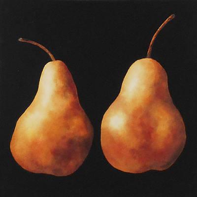 Bosc Pears Print by Jean Yates