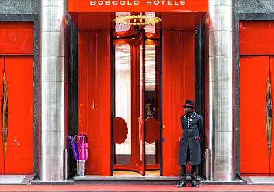 Photograph - Boscolo Hotels by Roberto Pagani