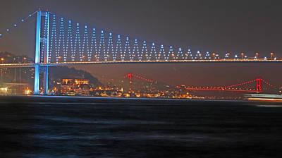 Bosphorus Bridge Original by Recep Suha Selcuk