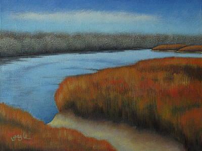 Grande Painting - Bosque View by Gayle Faucette Wisbon