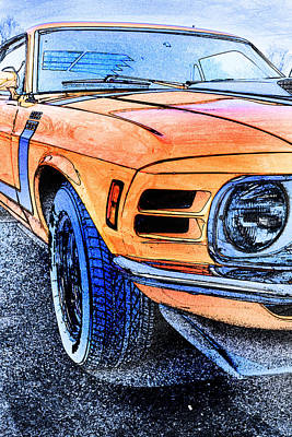 Photograph - Boss 302 by Michael Porchik