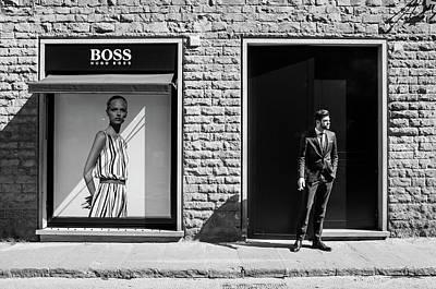 Shopping Wall Art - Photograph - Boss by Alexandru Visan