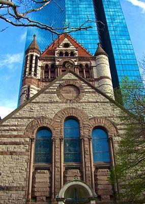 Photograph - Boston 3 by Ricardo J Ruiz de Porras