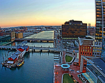 Photograph - Boston 4008 by Jeff Stallard