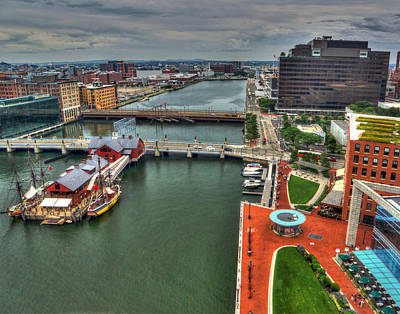 Photograph - Boston 4020 by Jeff Stallard