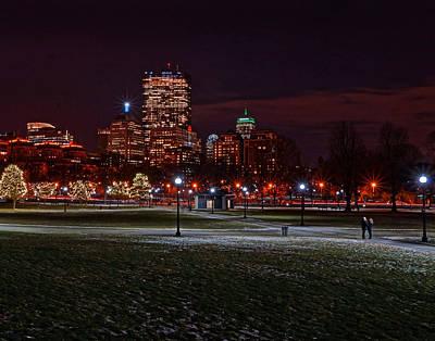 Photograph - Boston 4024 by Jeff Stallard