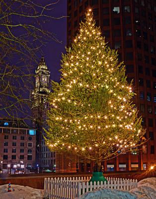 Photograph - Boston 4034 by Jeff Stallard