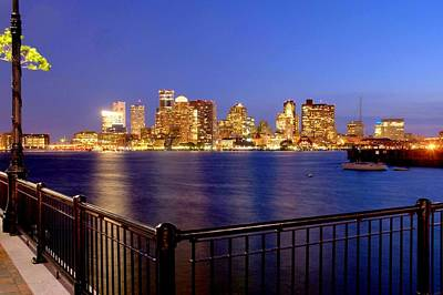 Photograph - Boston After Sunset by Caroline Stella