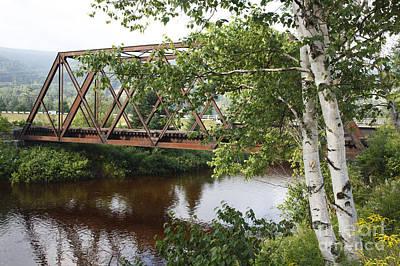 Boston And Maine Railroad - Bretton Woods New Hampshire Usa Art Print