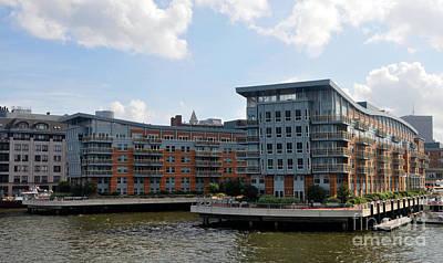 Photograph - Boston Apartments by Cheryl McClure