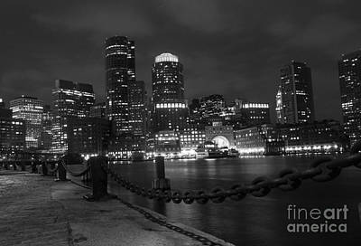 Photograph - Boston At Night by Juli Scalzi