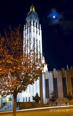Tulsa Oklahoma. Architecture Photograph - Boston Avenue Methodist Church In Tulsa Oklahoma In The Art Deco by ELITE IMAGE photography By Chad McDermott